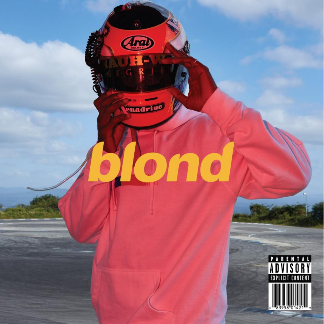 "Frank Ocean in Pink: alternatives Albumcover für ""Blond"""