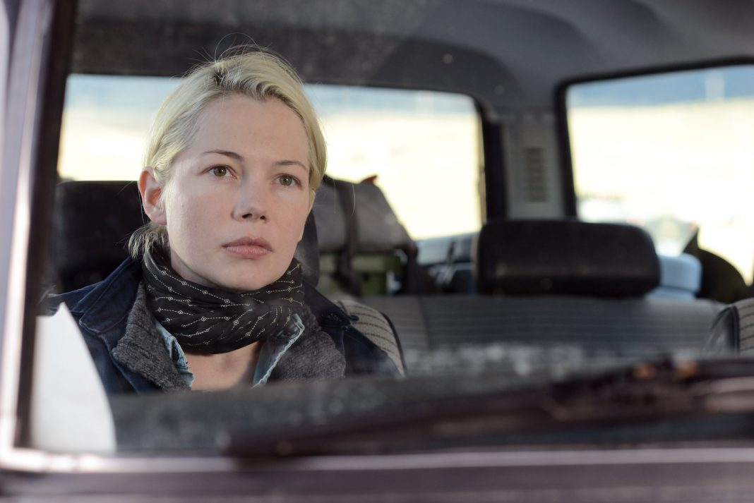 Mythischer Blick in mythischem Gefährt – Michelle Williams in Certain Women