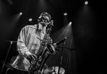 Methusalem-Solo, stehend: Pharoah Sanders beim Le Guess Who?
