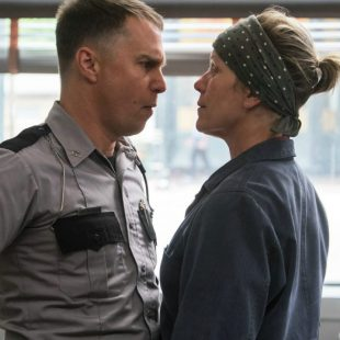 Muss Hass schön sein. Sam Rockwell vs. Frances McDormand in Three Billboards Outside Ebbing, Missouri